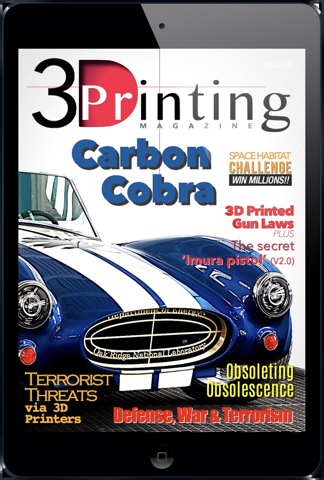 3d printing magazine subscription